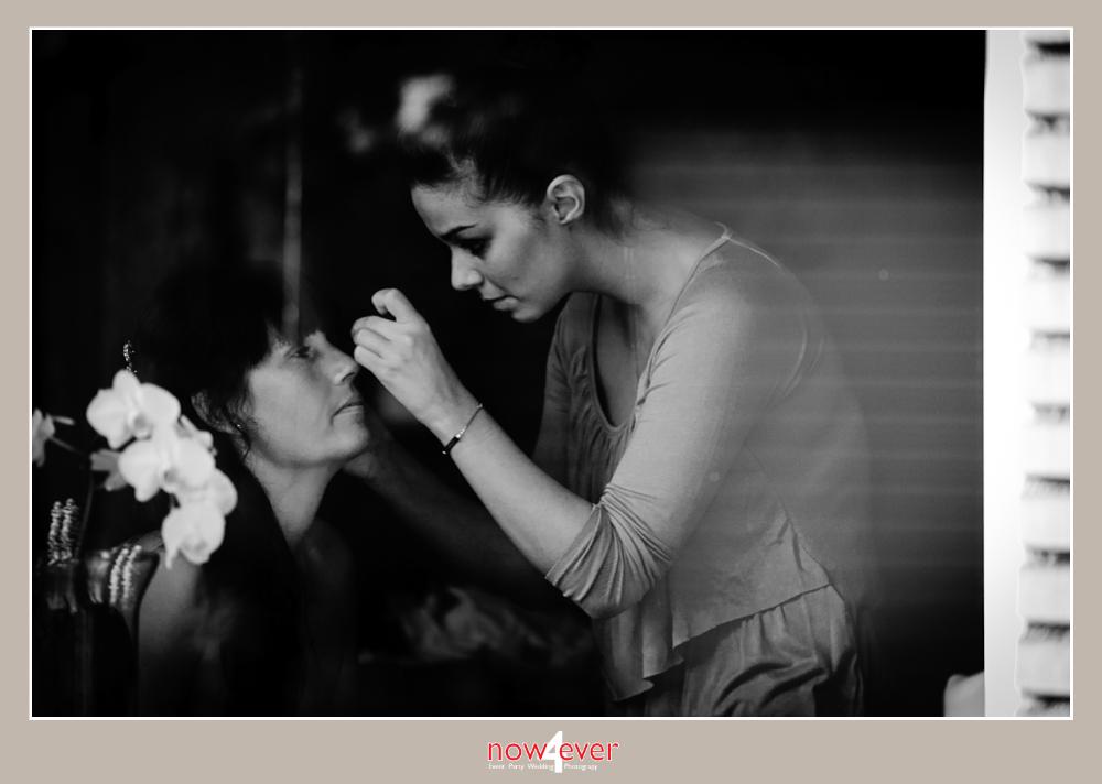 wedding Leen & Diederick make-up artist