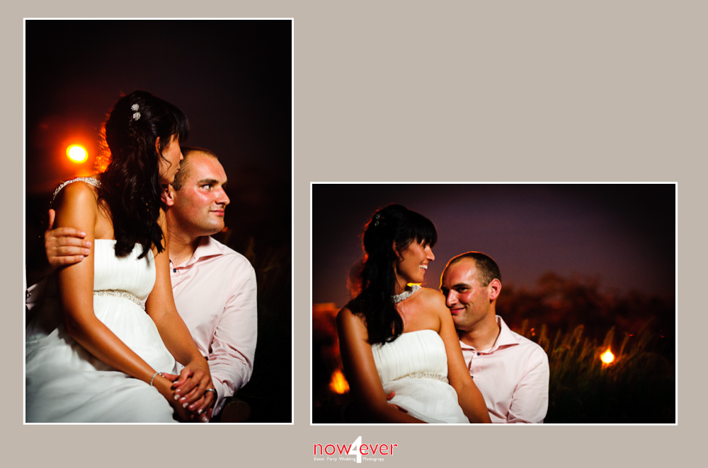 Trouw – Wedding Leen & Diederick  setting sun